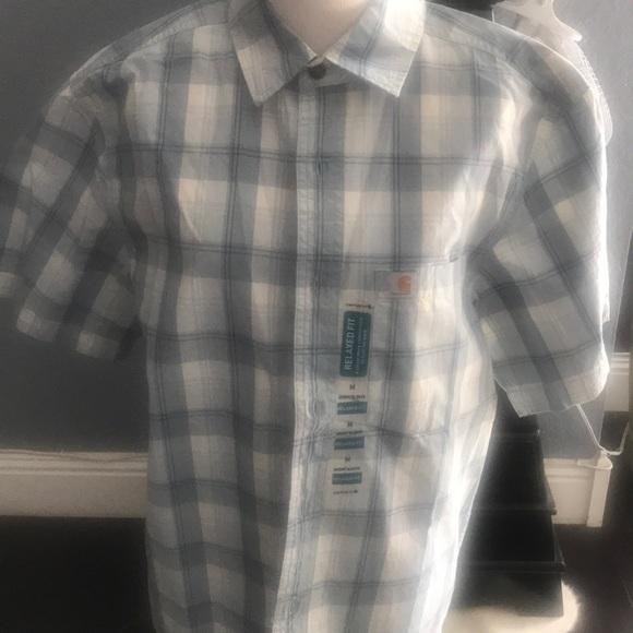 Carhartt Other - Men's Carhartt size Medium button up shirt NWT